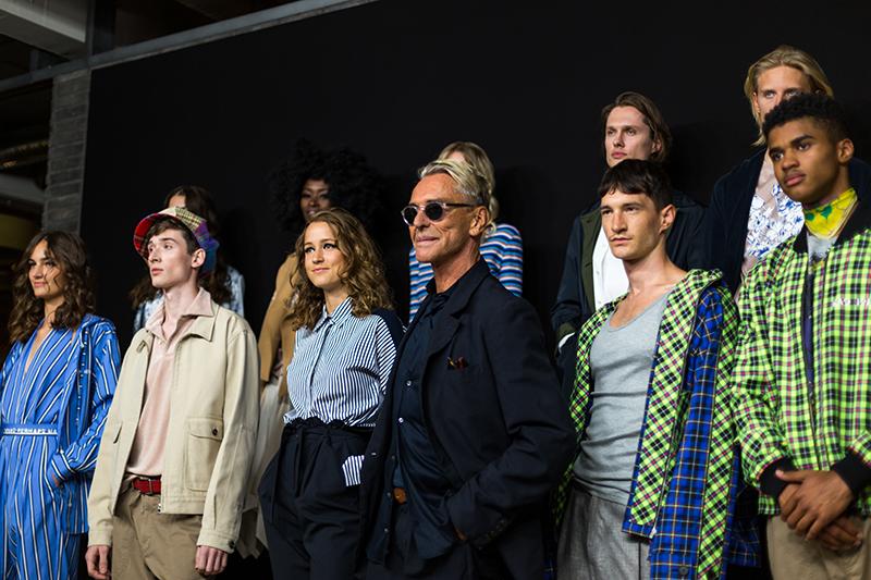 fashion show mit wolfgang joop