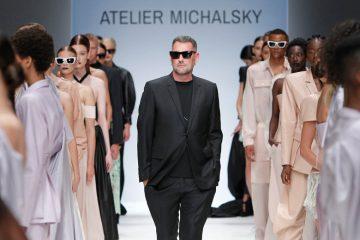models auf catwalk