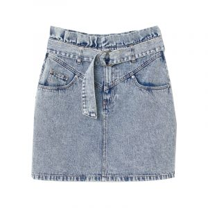 mini-rock aus jeans