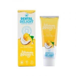 produktbild zahnpasta mit ananas von dental delight