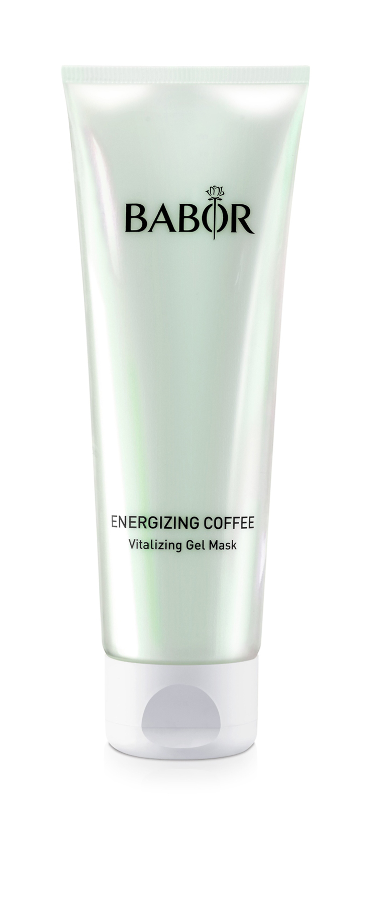 grüne Cremetube von babor energizing coffee vitalizing gel mask