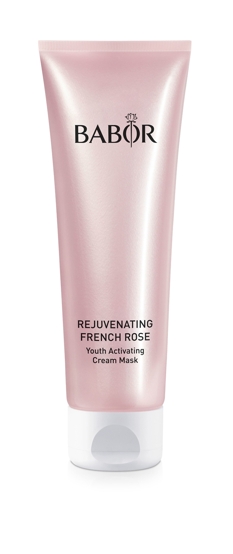 rosefarbene Babor Cremetube rejuvenating french rose youth activating cream mask