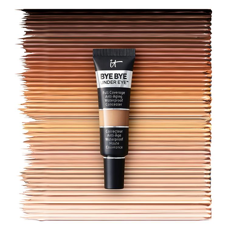it cosmetics swatches und textur der concealer shades