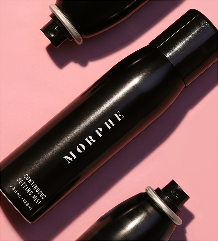 Morphe Setting Mist Bottles