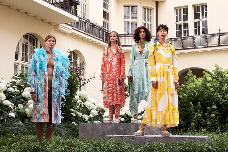 models auf fashionshow