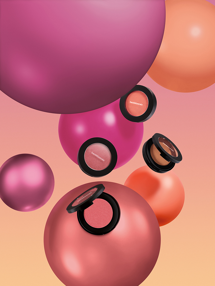 bareMinerals Bounce&Blur Blush Collection