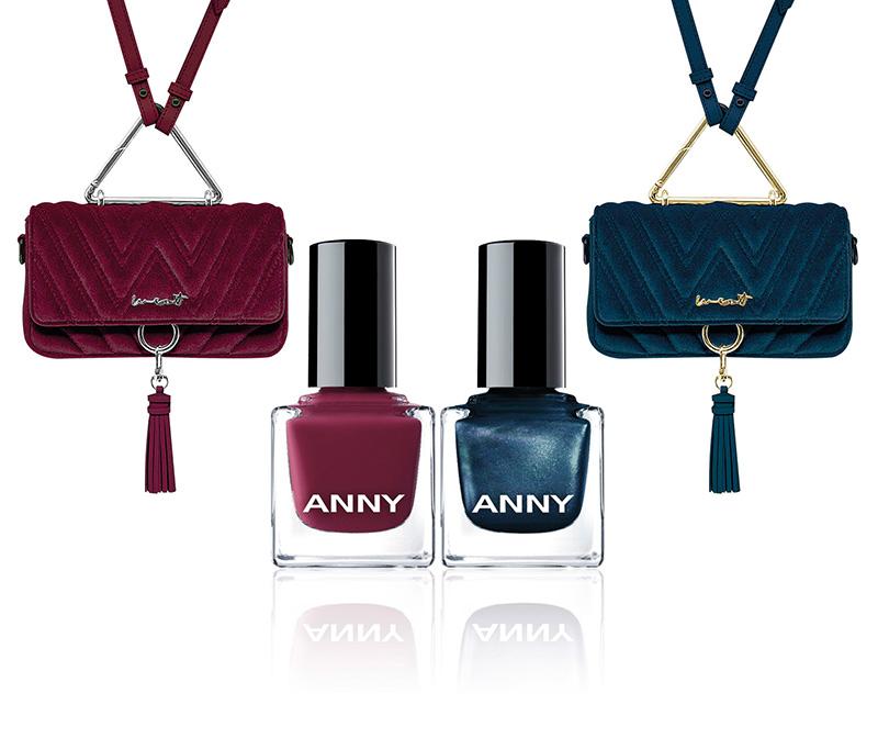 produktabbildung zwei taschen inklusive passenden nagellacken