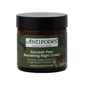 Avocado Kosmetik grüner Cremetiegel