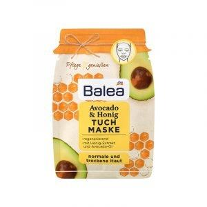 Avocado Kosmetik Tuchgesichtsmaske von Balea