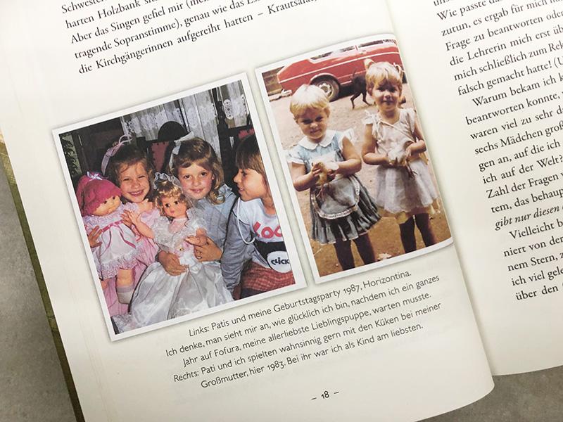 Gisele Bündchen Blick in ihr Buch: Kindheitsfotos