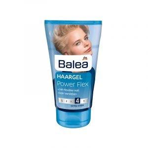 Haargel von Balea in blauer Tube