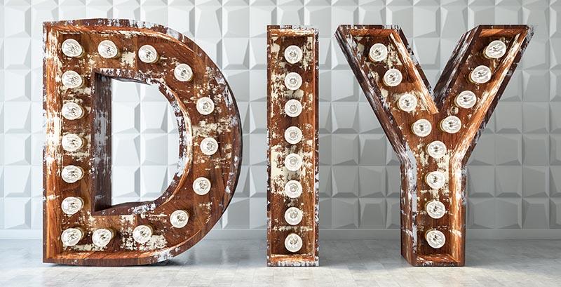 leuchtbuchstaben DIY