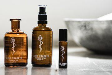 Yoga Öl, Spray und Parfum von Saint Charles