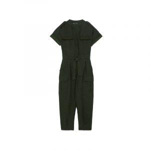 Schwarzer, kurzer Boiler-Suit