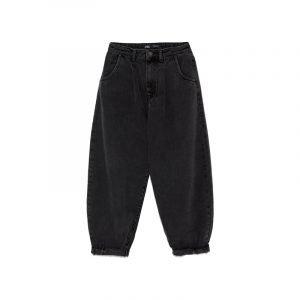 Schwarze Slouchy Jeans von Zara