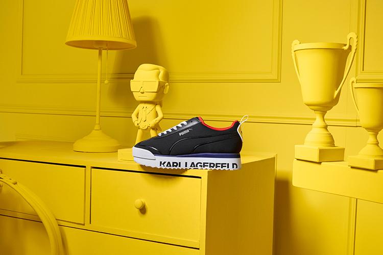Sneaker aus der PUMA x LAGERFELD Fashionkollektion