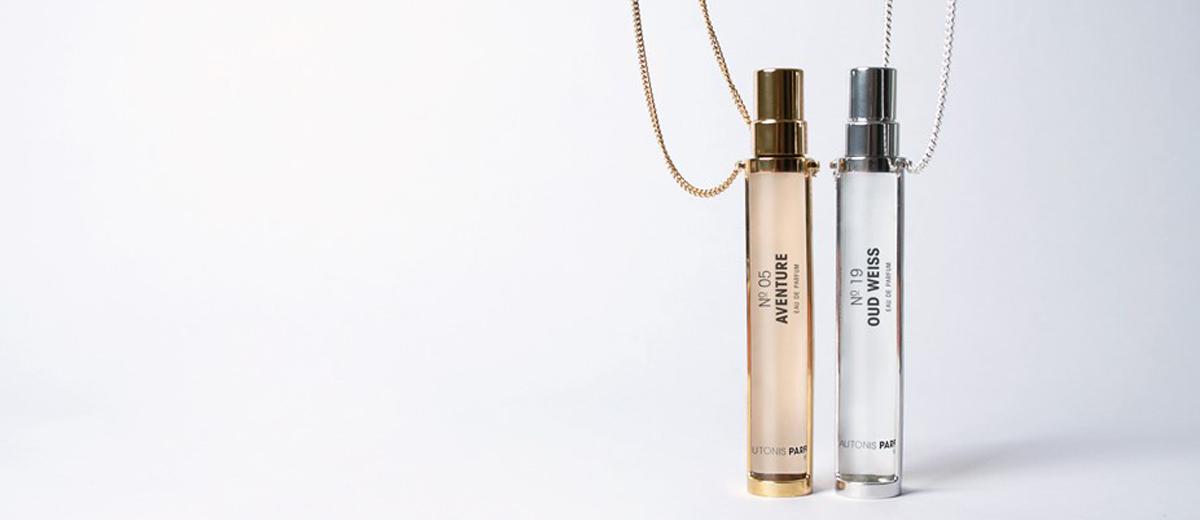 parfums mit schmuckketten