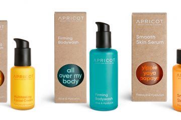 Gesichtspflegeprodukte Apricot