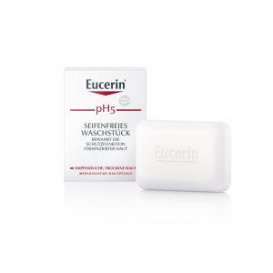 Seifenfreies Waschstück von EUCERIN - perfekt für Soap Brows