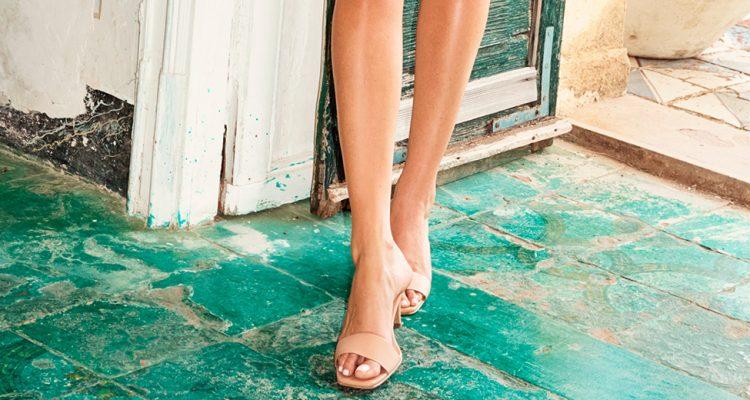 Trendschuhe 2020 mit quadratischer Schuhspitze von H&M