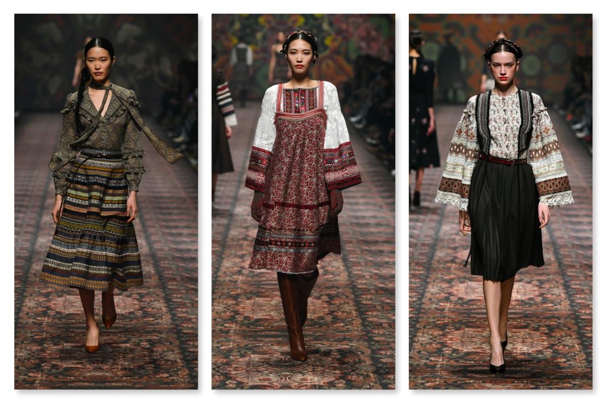 models bei der fashion week