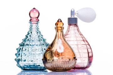 drei parfum flakons