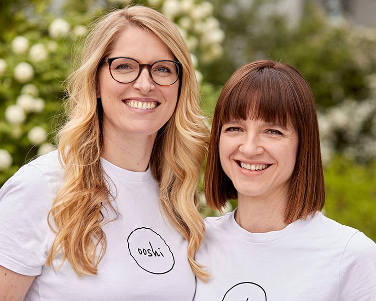 Die Gründerinnen von ooshi berlin