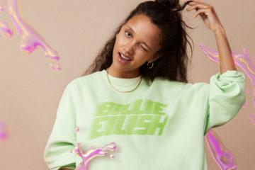 junge frau mit hellgrünem sweatshirt