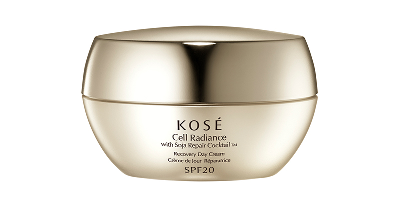 Kosé Cell Radiance Soja Repair Cocktail Produktbild Recovery Day Cream