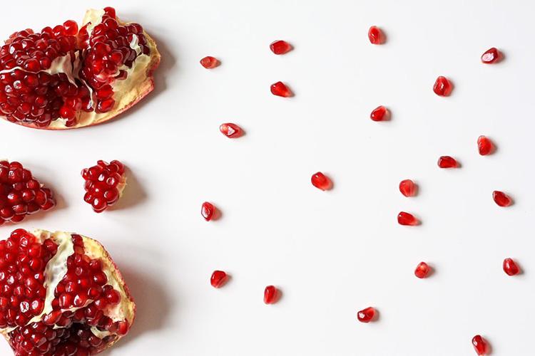 Granatapfel Früchte