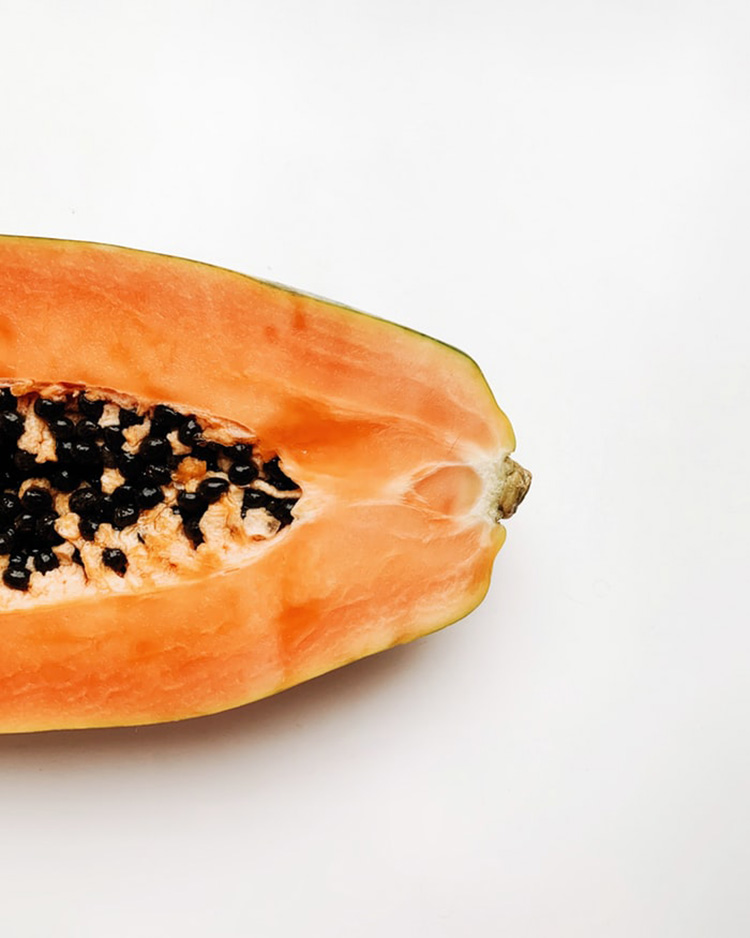 Papaya Früchte