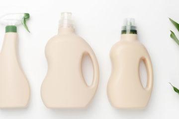putzmittel flaschen