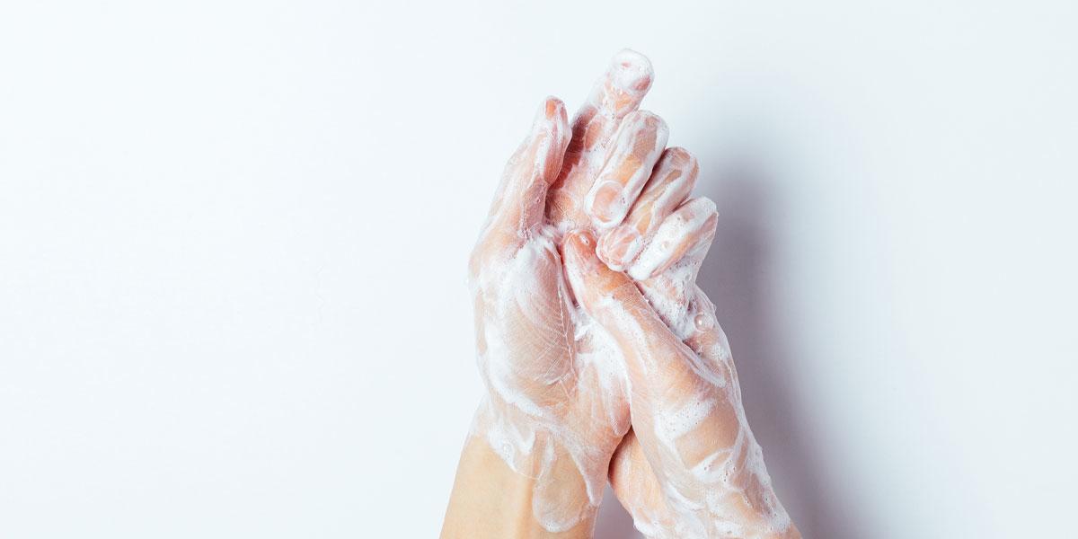 haende waschen handpflege