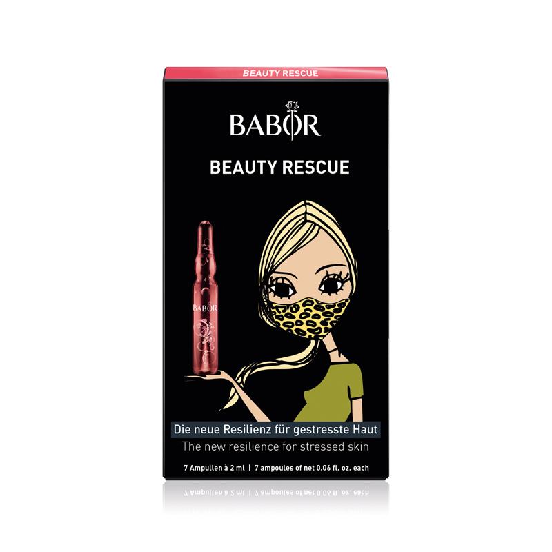 babor beauty rescue ampullen