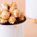 kaffee mit popcorn