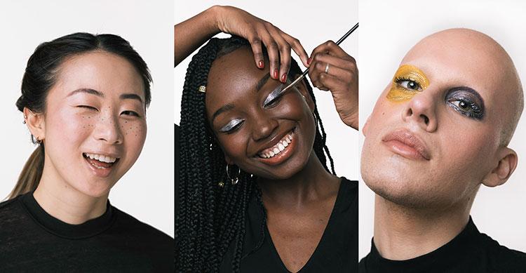 Lush Eyeliner Collage