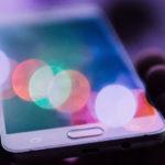 blue light smartphone