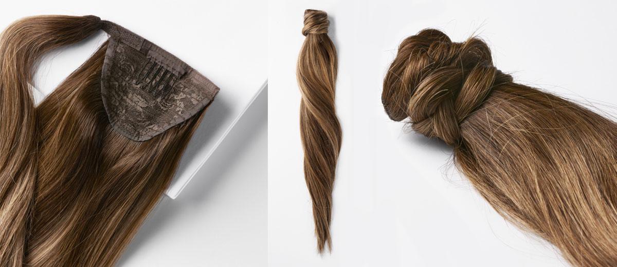 clip-in ponytail haarverlaengerung