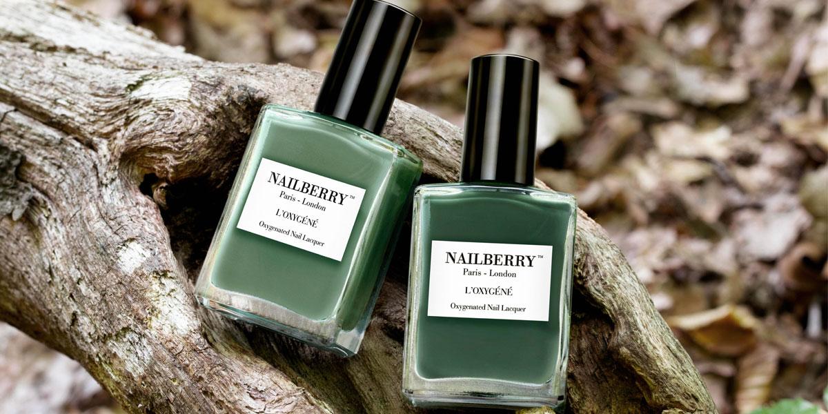 nailberry nagellack gruen