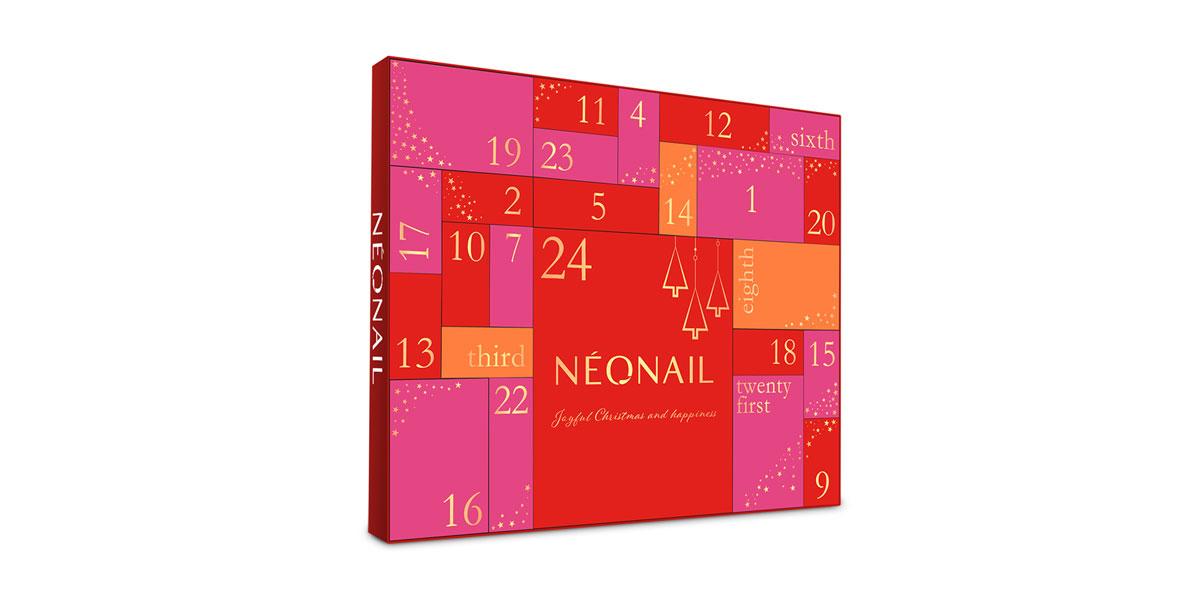 neonail adventskalender weihnachten
