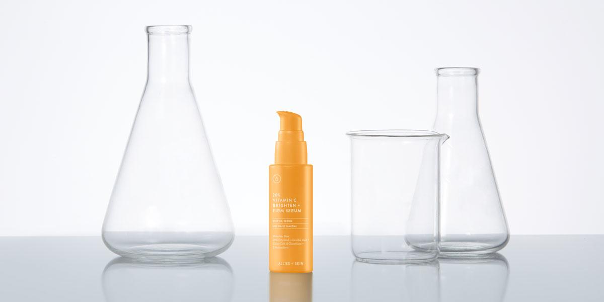 vitamin c serum von allies of skin
