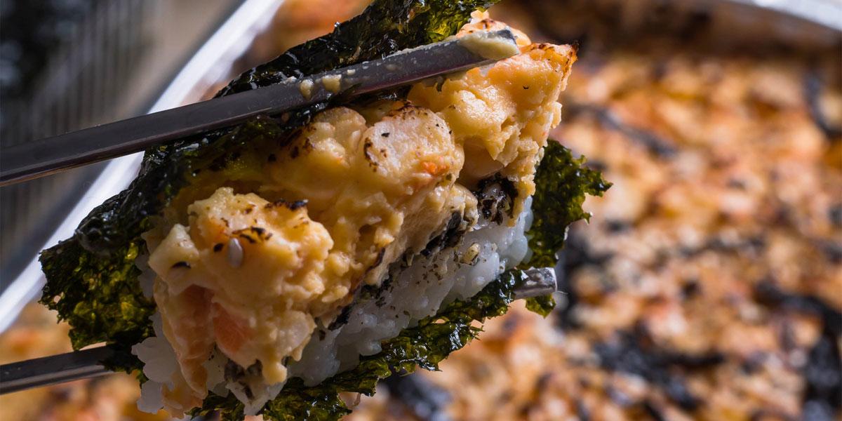 sushi baked