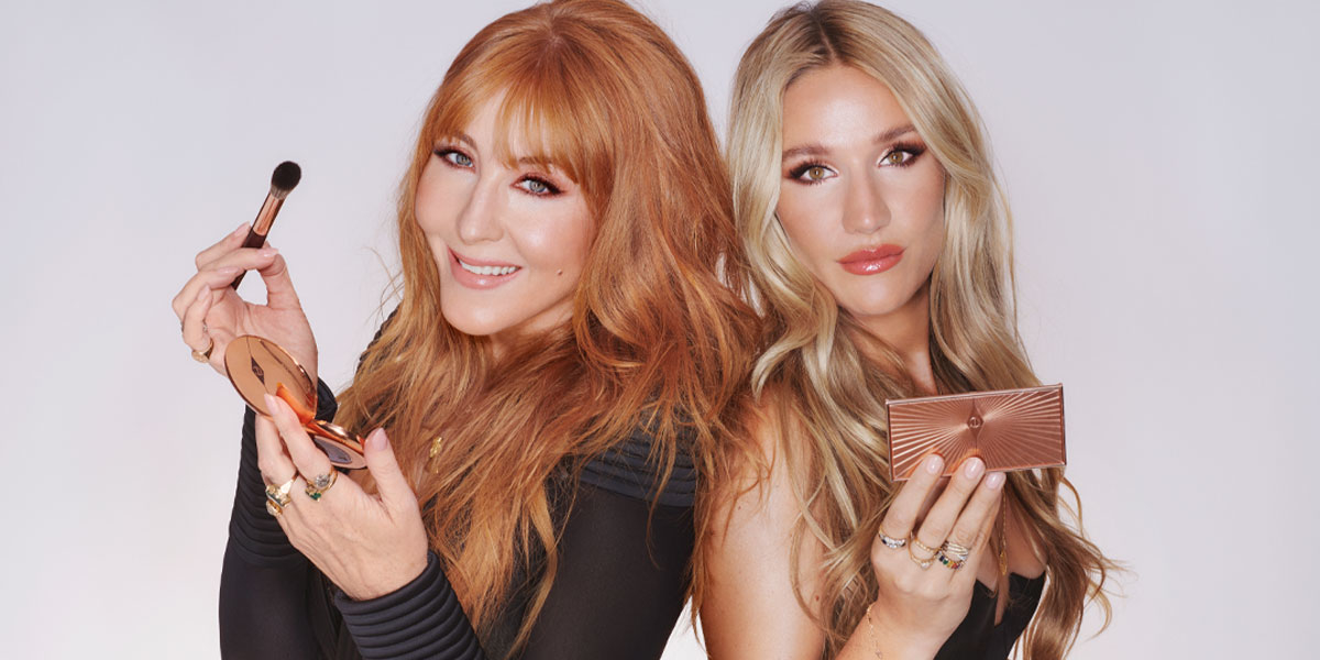 charlotte tilbury festive beauty guide