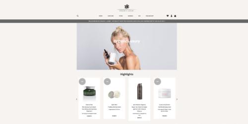 organic luxury onlineshop
