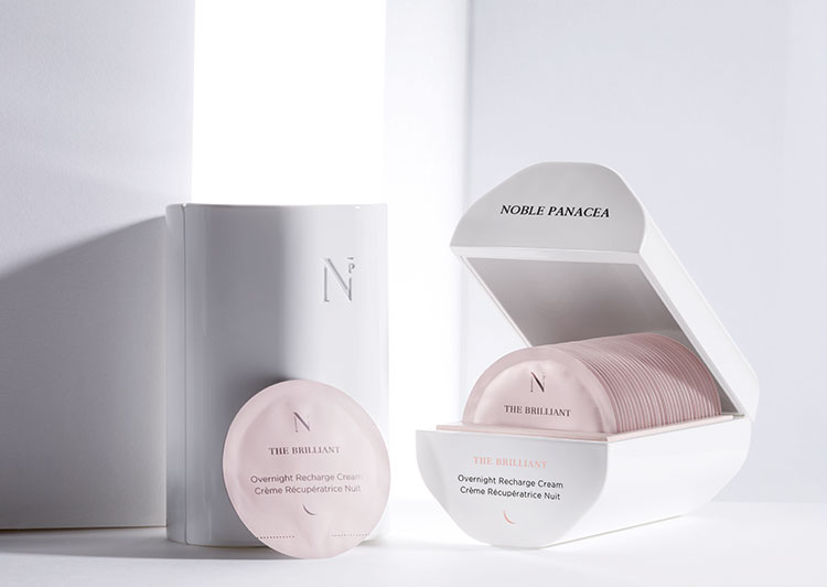 The Brilliant Overnight Recharge Cream - open - Noble Panacea