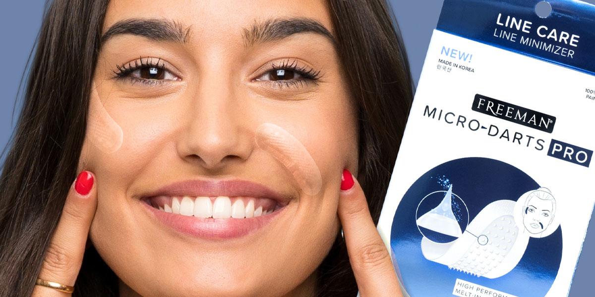 Micro-Darts Pro Gesichtspatches