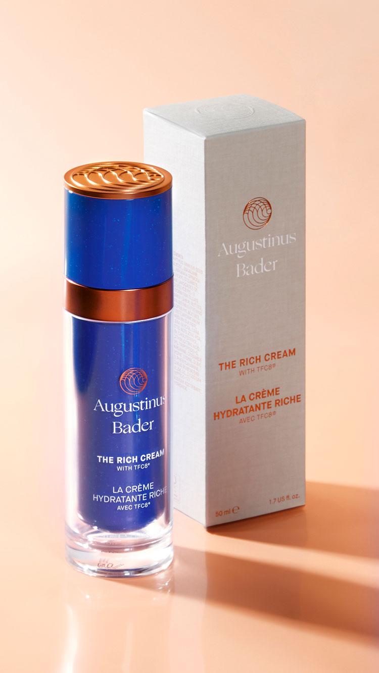 the rich cream augustinus bader produkt
