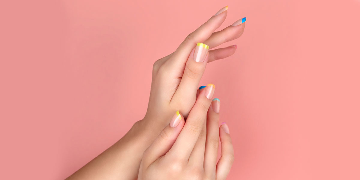 french pastell nails