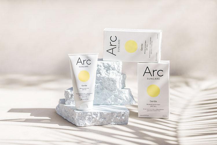 ArcSuncare Moodbild mit Packaging