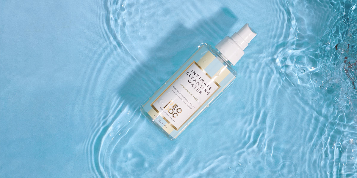 deodoc intimate cleansing water